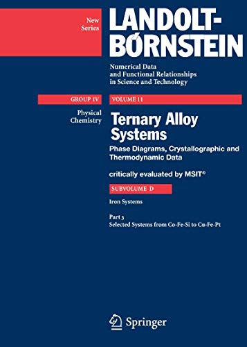 Selected Systems from Co-Fe-Si to Cu-Fe-Pt (Hardcover): MSIT Materials Science International Team