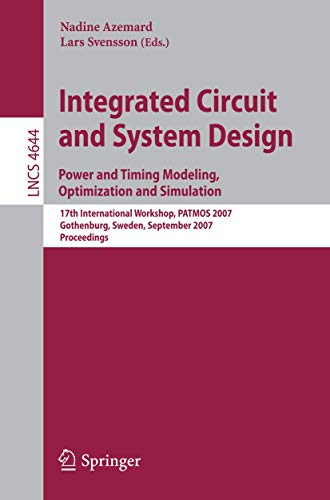 Integrated Circuit and System Design. Power and