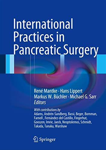9783540745051: International Practices in Pancreatic Surgery