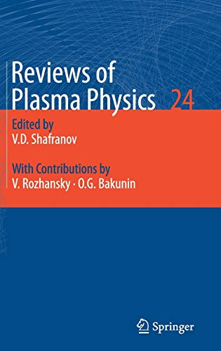 9783540745754: Reviews of Plasma Physics, Volume 24