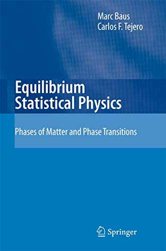 9783540746317: Equilibrium Statistical Physics: Phases of Matter and Phase Transitions