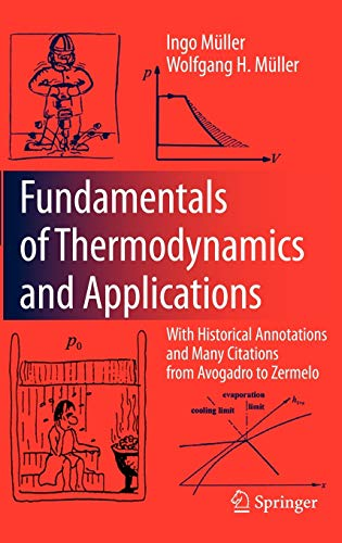 9783540746454: Fundamentals of Thermodynamics and Applications: With Historical Annotations and Many Citations from Avogadro to Zermelo