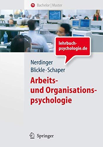 9783540747048: Arbeits- und Organisationspsychologie (Springer-Lehrbuch) (German Edition)