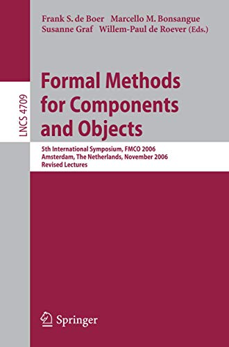 Formal Methods for Components and Objects: 5th