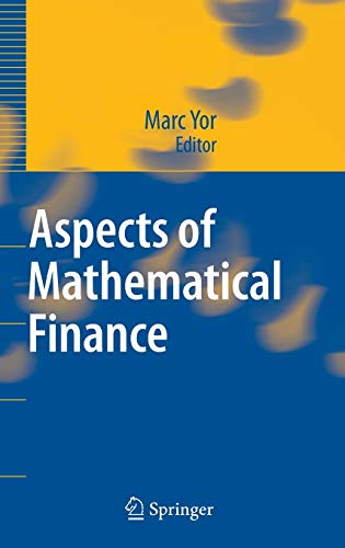 9783540752585: Aspects of Mathematical Finance
