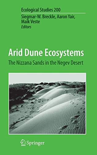 Arid Dune Ecosystems: Siegmar-W. Breckle