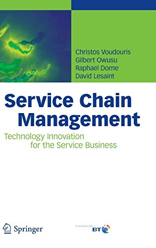9783540755036: Service Chain Management: Technology Innovation for the Service Business