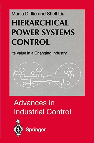 9783540760313: Hierarchical Power Systems Control: Its Value in a Changing Industry: Its Value in a Changing Society (Advances in Industrial Control)