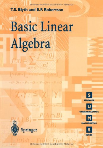 9783540761228: Basic Linear Algebra (Springer Undergraduate Mathematics Series)