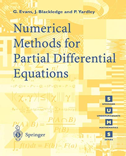 9783540761259: Numerical Methods for Partial Differential Equations (Springer Undergraduate Mathematics Series)