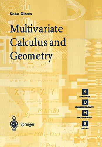 9783540761761: Multivariate Calculus and Geometry (Springer Undergraduate Mathematics Series)