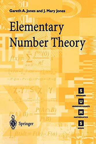 9783540761976: Elementary Number Theory (Springer Undergraduate Mathematics Series)