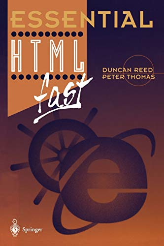 9783540761990: Essential HTML fast (Essential Series)