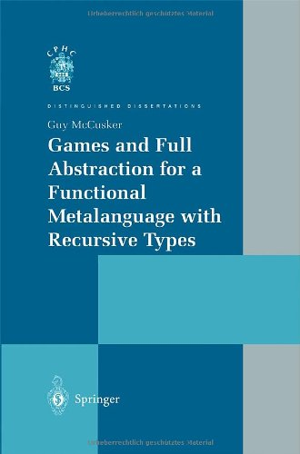 Games and Full Abstraction for a Functional Metalanguage with Recursive Types: McGusker, Guy