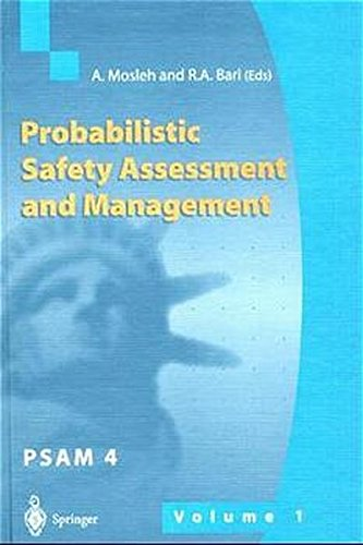 9783540762621: Probabilistic Safety Assessment and Management: Proceedings of the 4th International Conference on Probabilistic Safety Assessment and Management (PSAM), 13-18 September 1998, New York City, USA