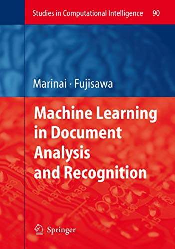 9783540762799: Machine Learning in Document Analysis and Recognition (Studies in Computational Intelligence)