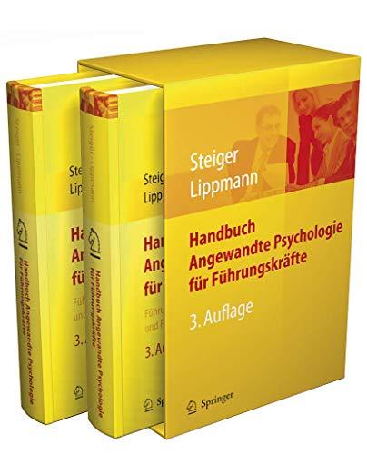9783540763390: Handbuch Angewandte Psychologie für Führungskräfte: Führungskompetenz und Führungswissen (German Edition)
