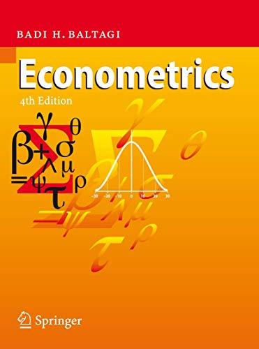 9783540765158: Econometrics