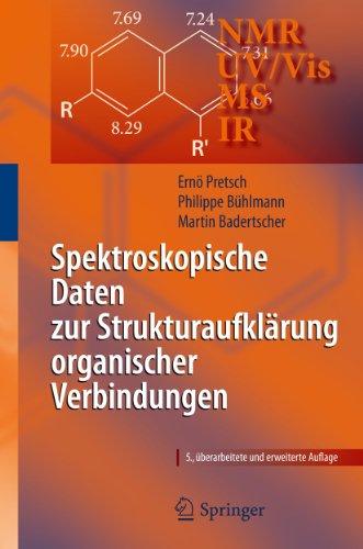 9783540768654: Spektroskopische Daten zur Strukturaufklärung organischer Verbindungen (German Edition)