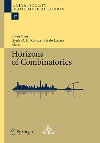 9783540771999: Horizons of Combinatorics (Bolyai Society Mathematical Studies)