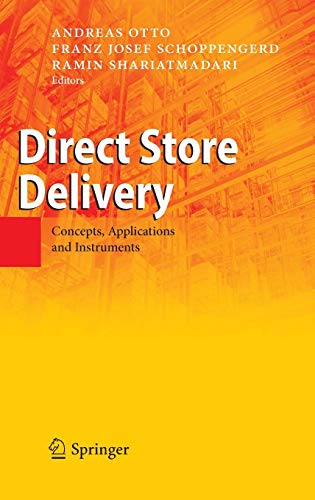 9783540772125: Direct Store Delivery: Concepts, Applications and Instruments