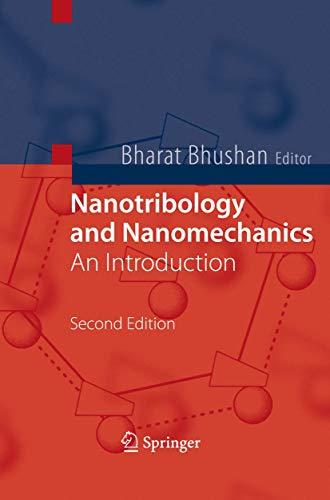 9783540776079: Nanotribology and Nanomechanics: An Introduction
