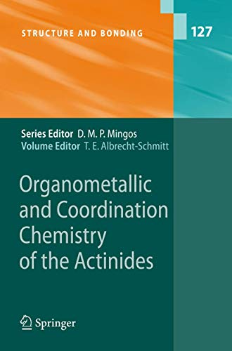 Organometallic and Coordination Chemistry of the Actinides