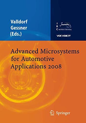 Advanced Microsystems for Automotive Applications 2008 (Hardcover): Valldorf