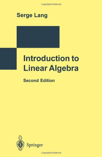 9783540780601: Introduction to Linear Algebra