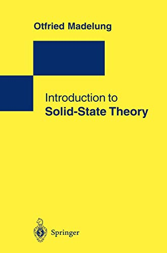 9783540780618: Introduction to Solid-State Theory (Springer Series in Solid-State Sciences)