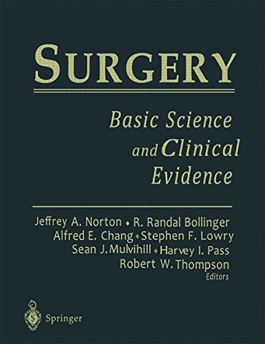 9783540780700: Surgery: Basic Science & Clinical Evidence