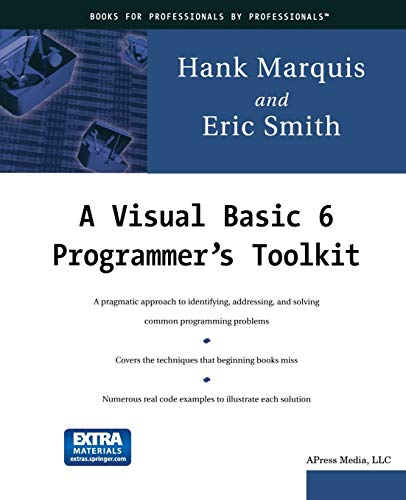 9783540780816: A Visual Basic 6 Programmer's Toolkit