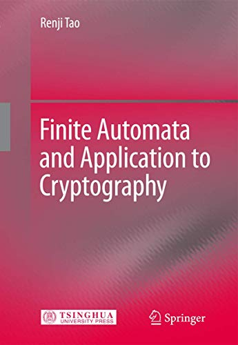 9783540782568: Finite Automata and Application to Cryptography