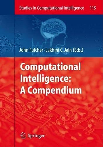 Computational Intelligence: John Fulcher