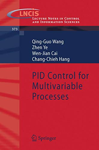 9783540784814: PID Control for Multivariable Processes (Lecture Notes in Control and Information Sciences)