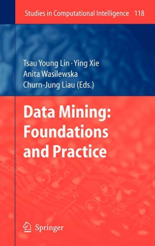 9783540784876: Data Mining: Foundations and Practice (Studies in Computational Intelligence)