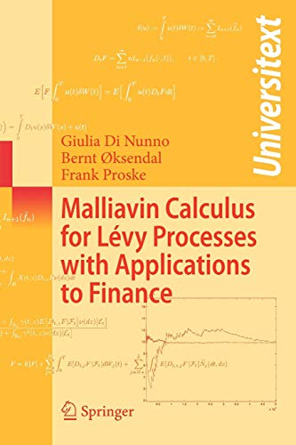 9783540785712: Malliavin Calculus for Lévy Processes with Applications to Finance