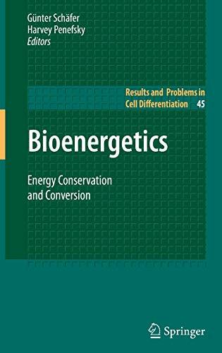 Bioenergetics: Gunter Schafer