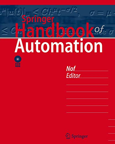 Springer Handbook of Automation: Shimon Y. Nof
