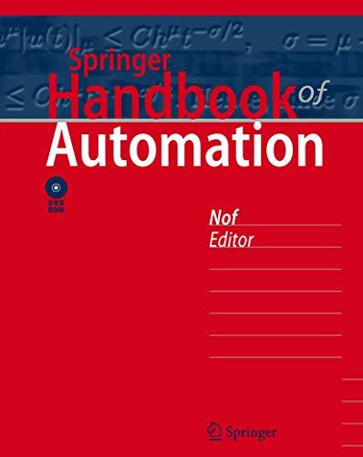 9783540788300: Springer Handbook of Automation (Springer Handbooks)