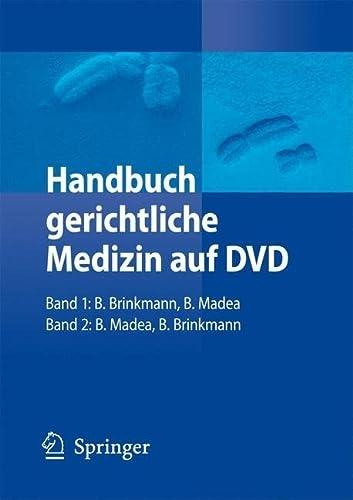 9783540790143: Handbuch Gerichtliche Medizin Auf DVD: Band 1 Und 2: 1-2