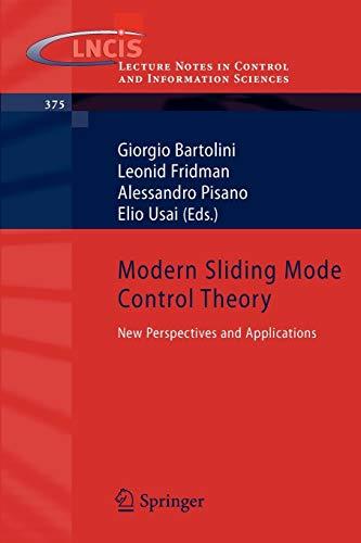 Modern Sliding Mode Control Theory: Giorgio Bartolini