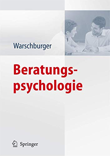 9783540790600: Beratungspsychologie (German Edition)