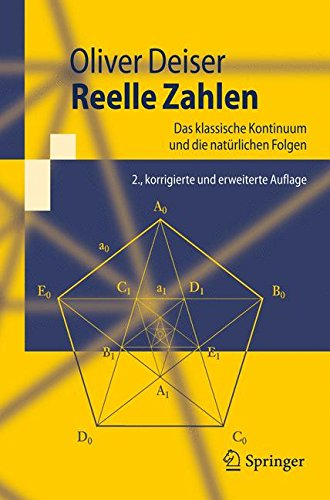 9783540793755: Reelle Zahlen: Das klassische Kontinuum und die natürlichen Folgen (Springer-Lehrbuch) (German Edition)