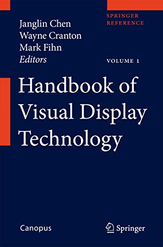 Handbook of Visual Display Technology (Hardcover)