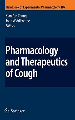 9783540798415: Pharmacology and Therapeutics of Cough (Handbook of Experimental Pharmacology)