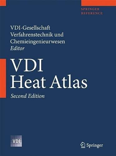 9783540799993: VDI Heat Atlas (VDI-Buch)