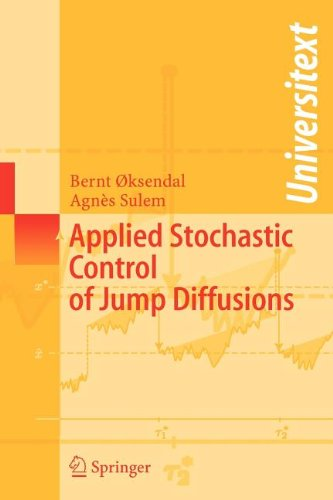 9783540800187: Applied Stochastic Control of Jump Diffusions