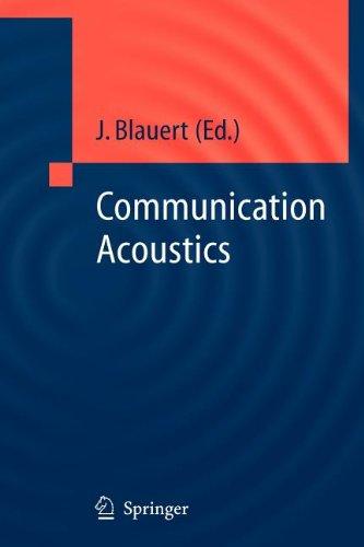9783540802129: Communication Acoustics