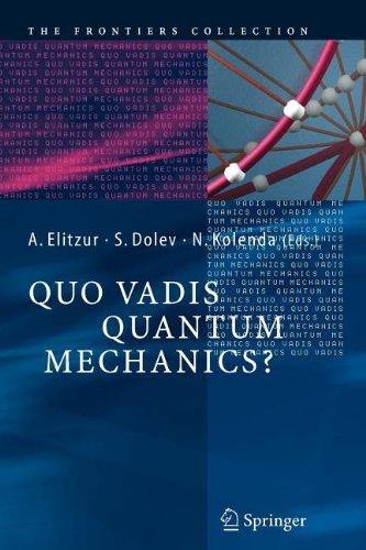 9783540802167: Quo Vadis Quantum Mechanics?